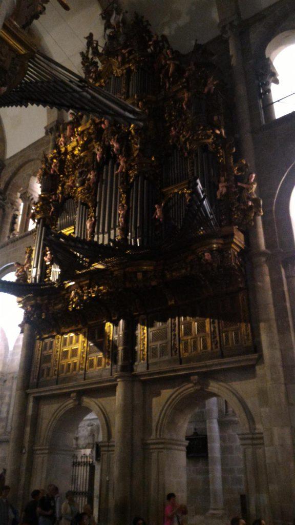 organo della catedrale-santiago