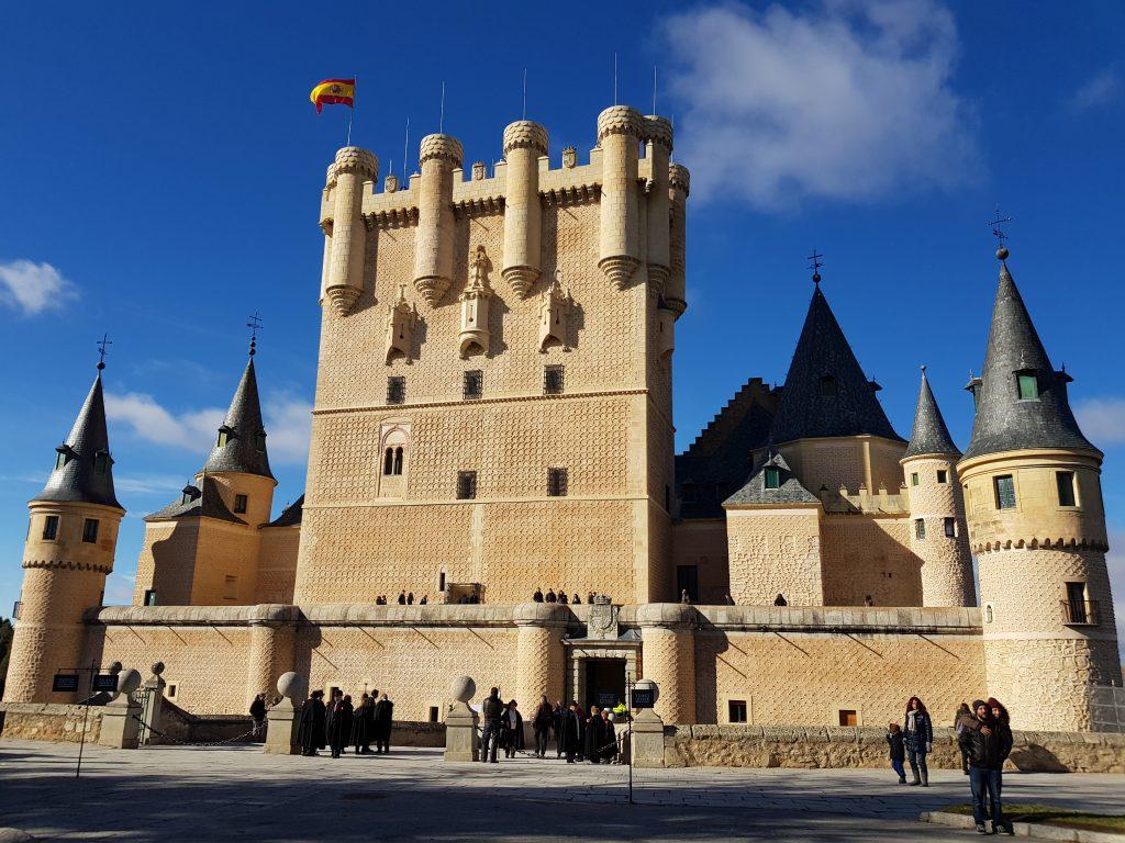 castello di Segovia adatto ai bambini