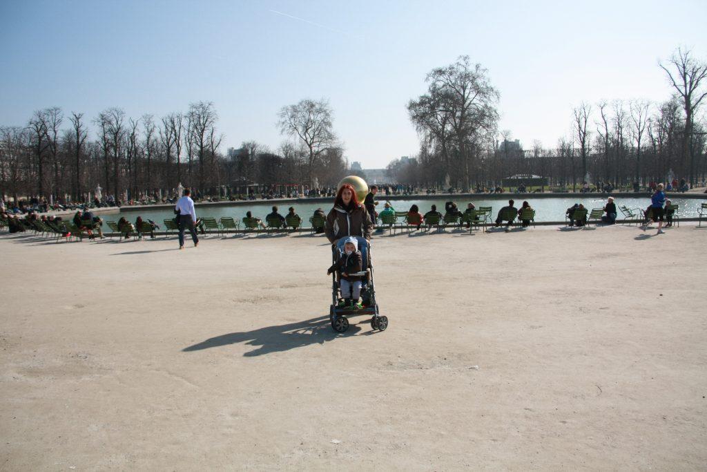 parigi giardini des Tuileries