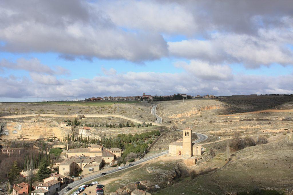 vista della valle eresma