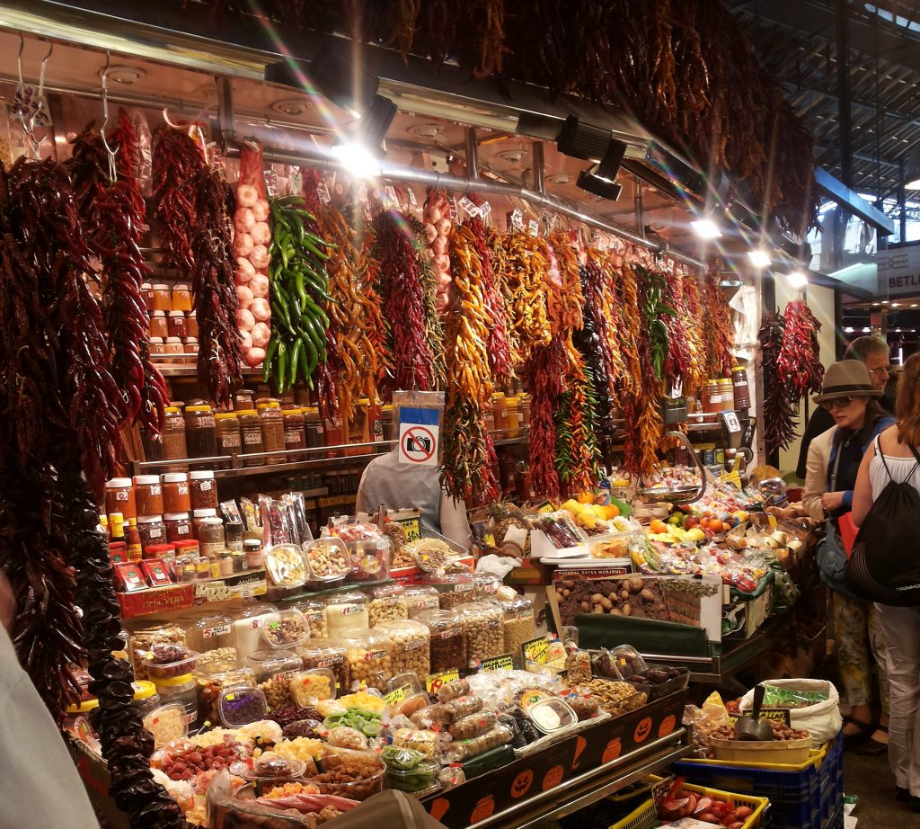 mercado di sant josep barcellona