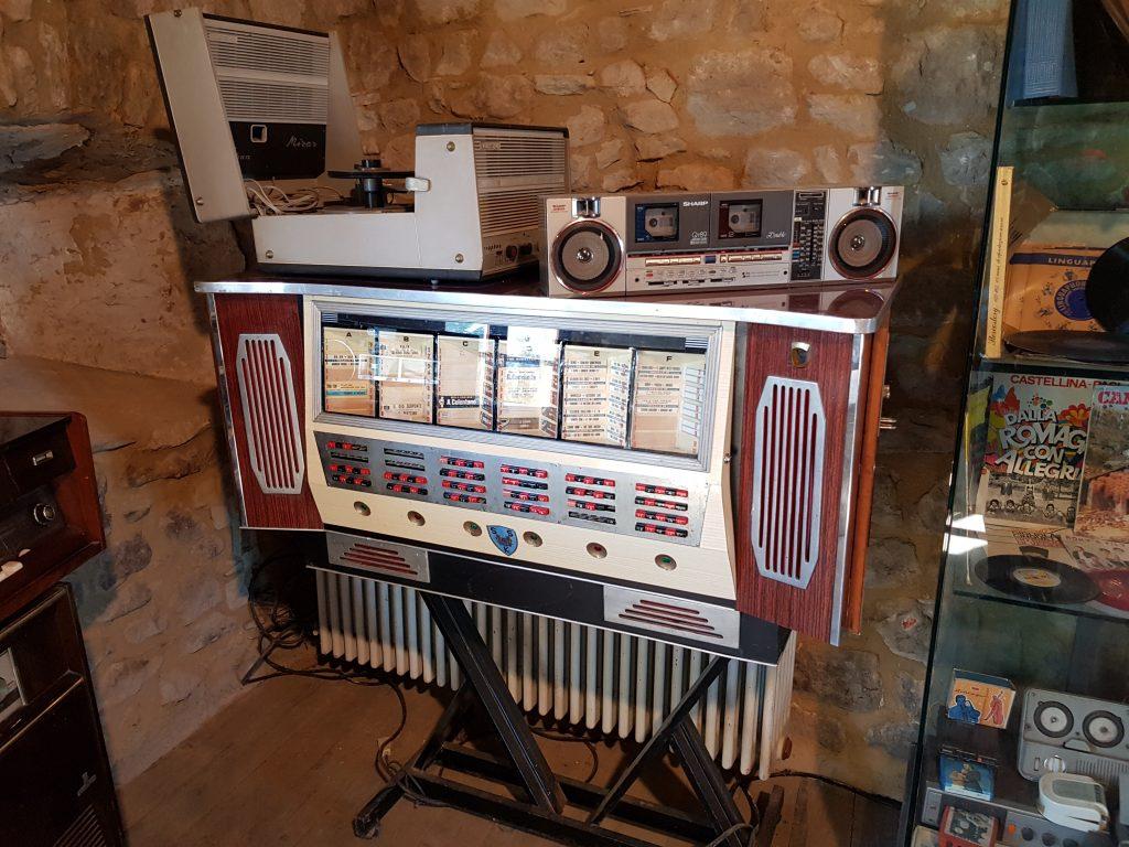 museo strumenti musicali nella fortezza di Sestola